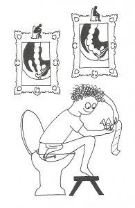 Toilethouding